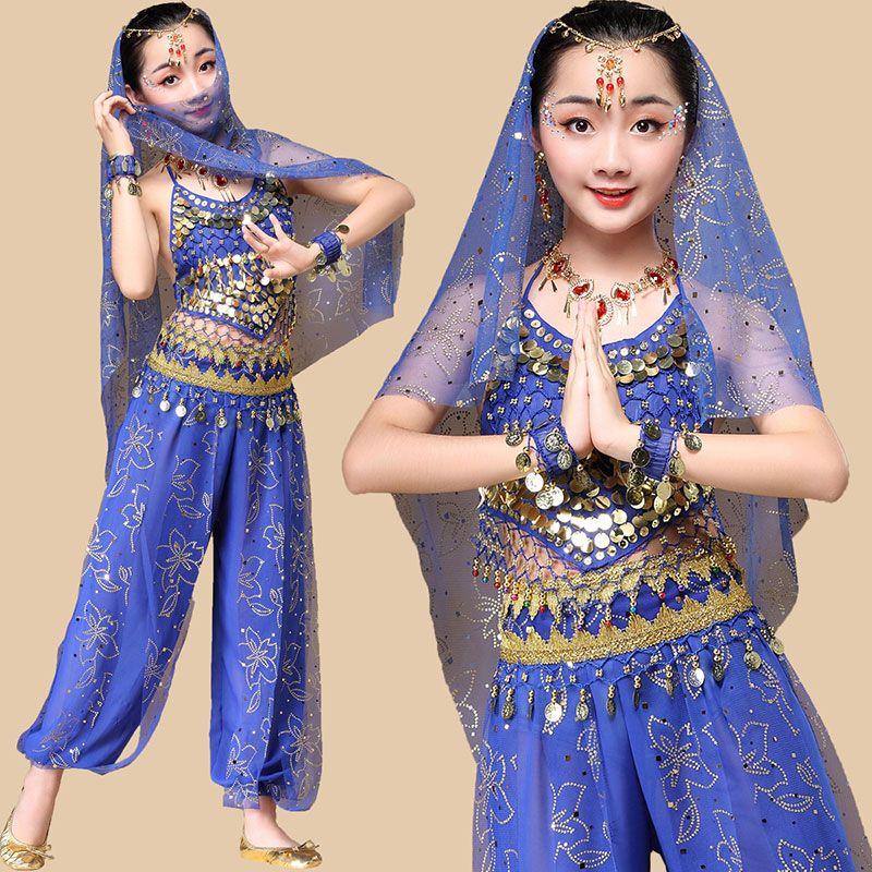 bd52ed812 2019 Kid Children Dancewear Professional Belly Dance Costume For ...