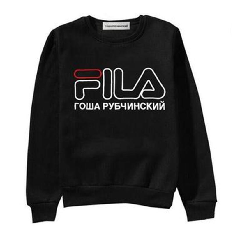 Acquista Abbigliamento Donna Di Marca Gosha FL Lettere Stampate Felpe  Casual Primavera Femminile Autunno Manica Lunga Pullover S 2XL A  29.83 Dal  Wangyicom ... 69cf7b370c0