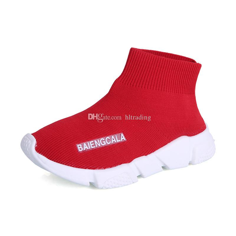 Kids shoes baby running sneakers Breathable Leisure boots children boys girls Athletic socks Shoes 2 colors C5171