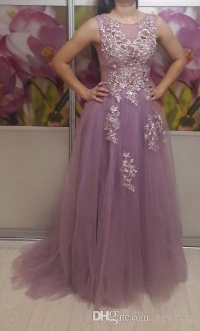 Best Quality Evening Dresses Long Plus Size Tulle Beaded Prom Party ...