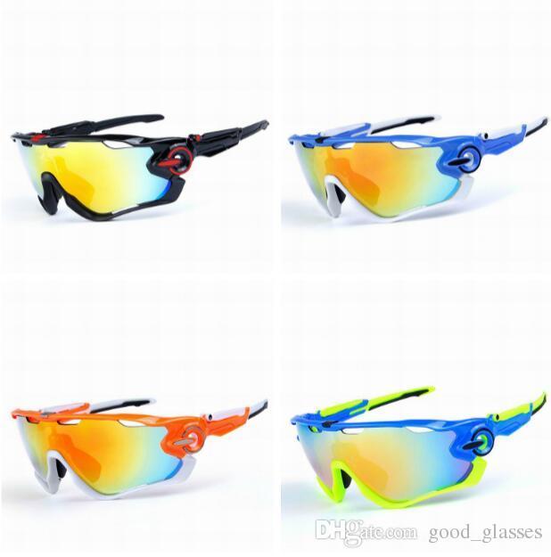 77378b4f4c16c Compre Novo Esporte Polarizada Óculos De Sol Marca Designer Ciclismo Óculos  De Sol De Corrida De Bicicleta De Montanha Óculos De Proteção  Intercambiáveis ...
