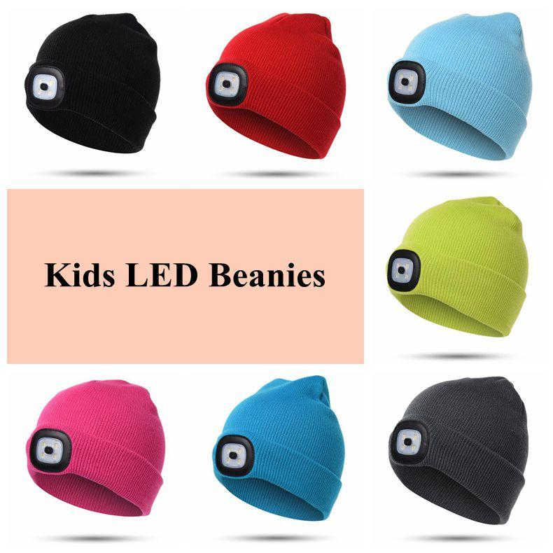 LED Light Warm Hat Battery Type Winter Beanies Fishing Camping Cap Knitted  Hat Camping Outdoor Crochet Hat CCA10459 Ski Hats Newborn Hats From ... 9a8e8e0738a