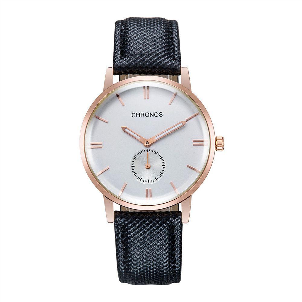 ff2ead158b35 Compre Relojes Masculinos Moda Para Hombre Reloj Impermeable Para Hombre  Reloj De Pulsera Impermeable Con Calendario Estilo De Ocio Envío De La Gota  A ...