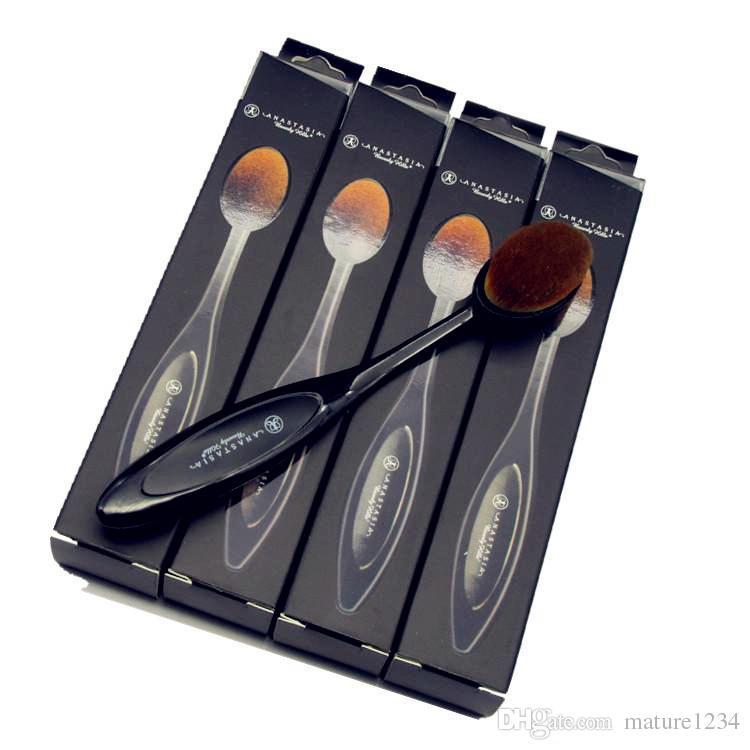 Makeup Oval Brushes Best Blending Brushes Powder Face Brushes Foundation Eye Shadow Brush Soft Mermaid Toothbrush Cosmetic Tools