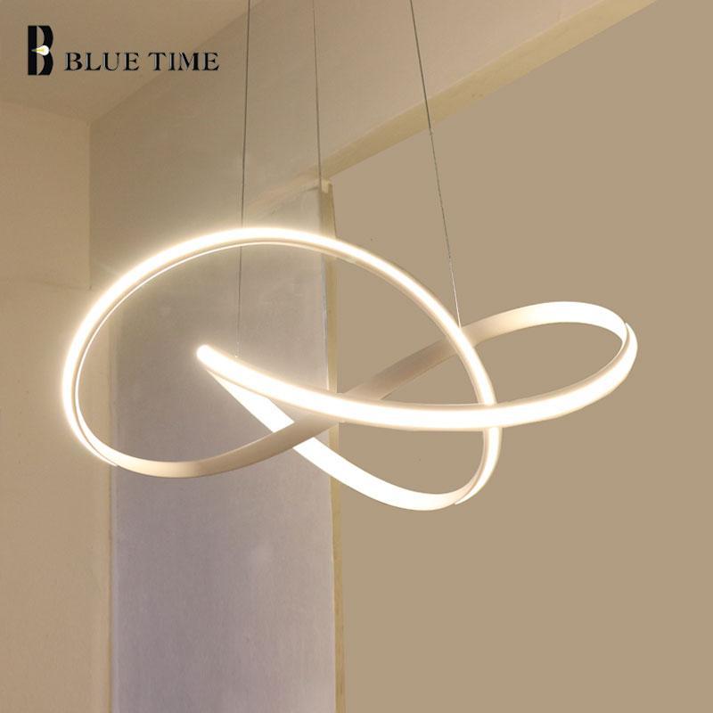 Lampe D`éclaira Créatif Plus Moderne Circulaire Led Salon Simple Nwv0nm8
