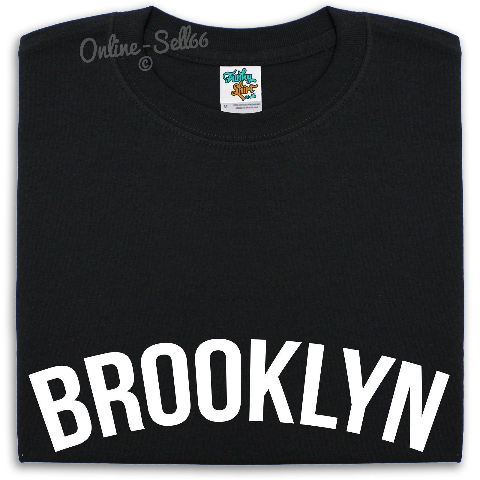 1ac19fefad1fc Acheter Brooklyn T Shirt Hommes Femmes Enfants New York Nyc Cool Casual T  Shirt Hommes Unisexe Nouveau Mode Tshirt De  10.66 Du Cls6688522