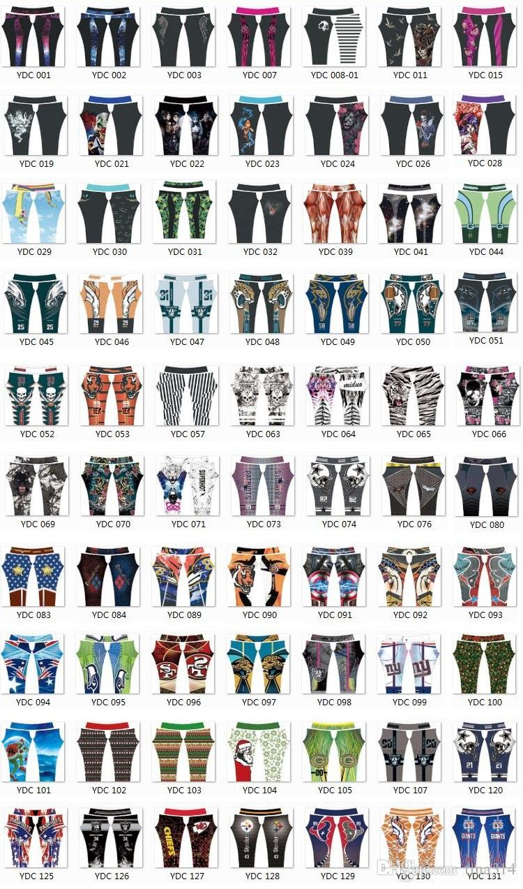 Newest Fashion Womens 3D Galaxy Printed Leggings For Women Workout Leggings Yoga pants Stretch Tights Sport Rugby Leggings 4540
