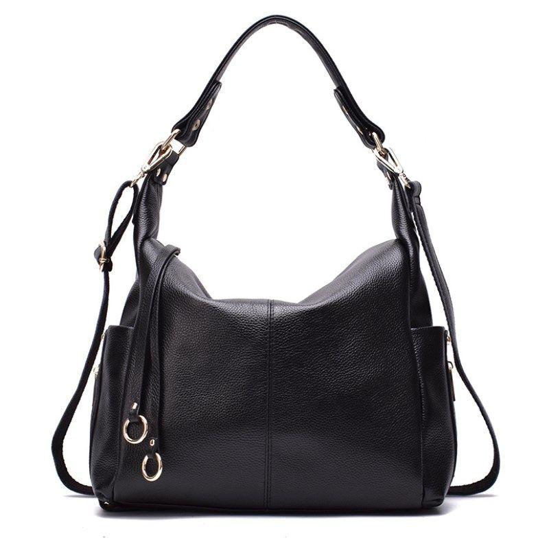 Supper Hot Sale Women Handbags Casual Ladies Genuine Leather Shoulder Bag  Brand Designer Shoulder Shopping Bags High Quality Tote Bag Handbags Brands  Womens ... 893580430be6f