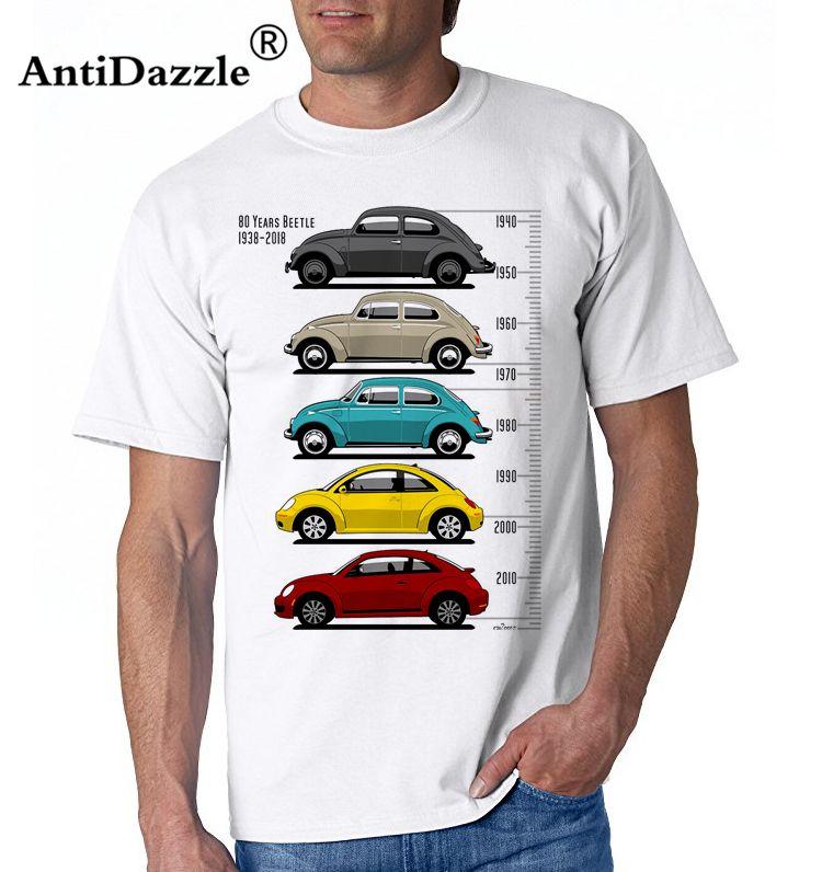 Beetle Bug 1938 Classic Retro Style Mens Car T-Shirt