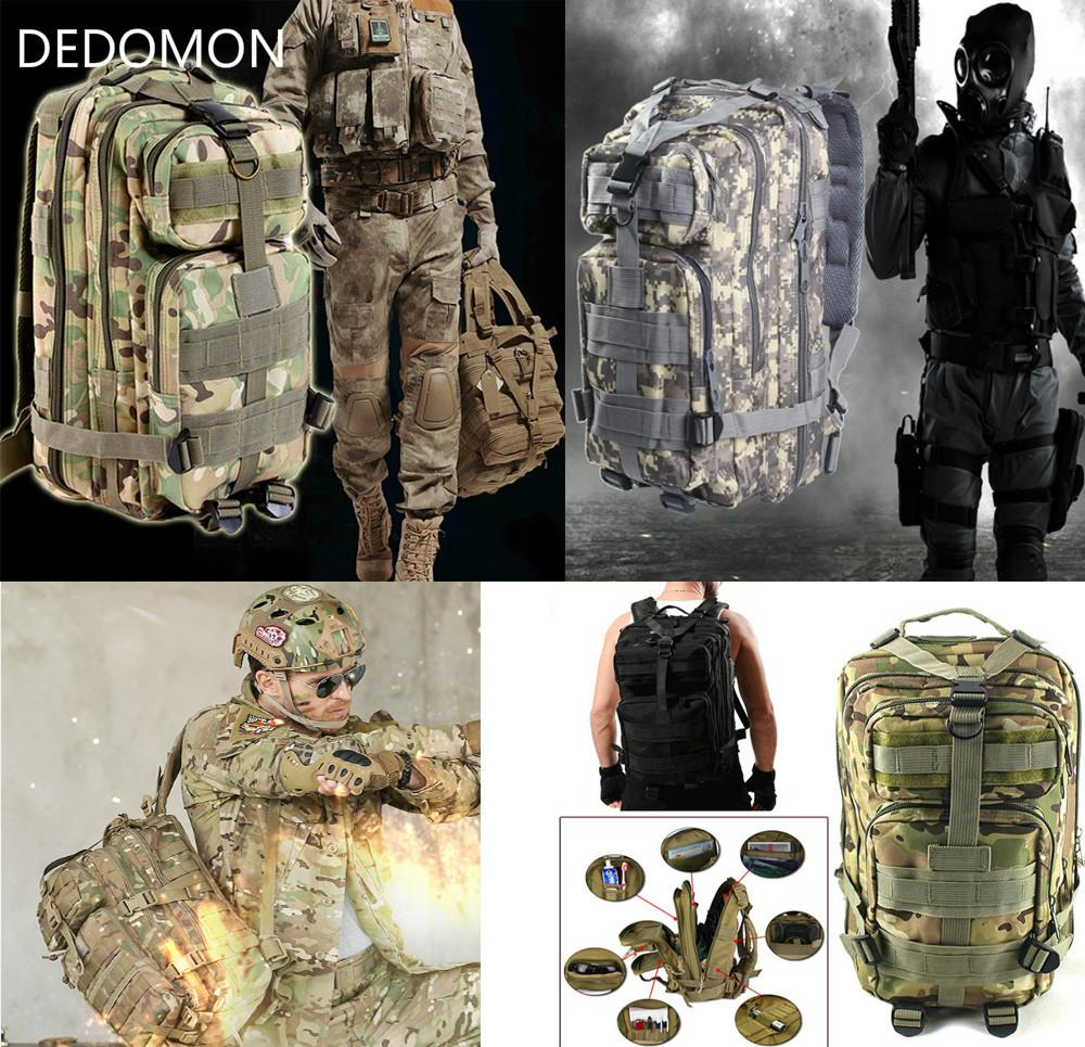 266be8ed2 2019 2017 3P Outdoor Military Tactical Backpack 30L Molle Bag Army Sport  Travel Rucksack Camping Hiking Trekking Camouflage Bag From Sportblue, ...