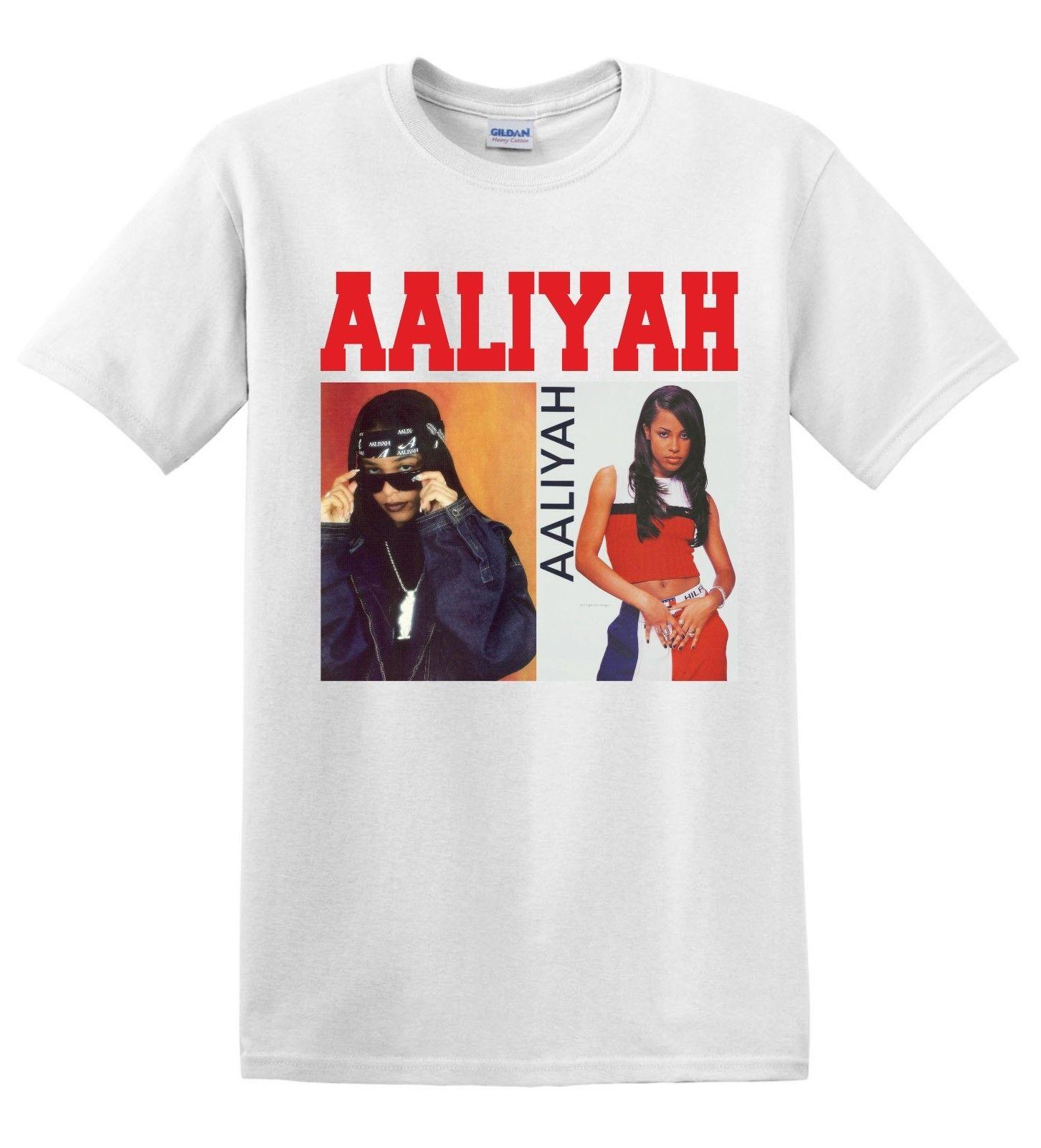 7c77e3b5 Aaliyah T Shirt, R&B Singer,Raper Free Delivery T Shirts With Sayings Awesome  T Shirt Designs From Bstdhgate09, $11.01| DHgate.Com