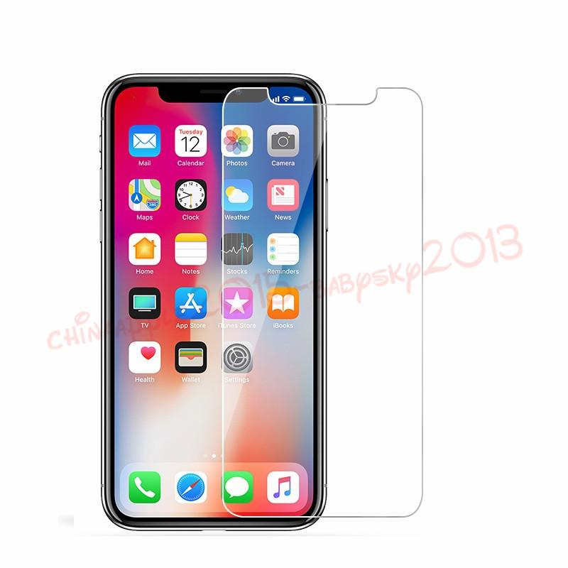 Protetor de tela de vidro temperado para iphone 6 6s 7 7 plus 8 plus x xs xs xs protetor de tela max 2.6mm 2.5d para samsung galaxy s6 s7 s8 s9