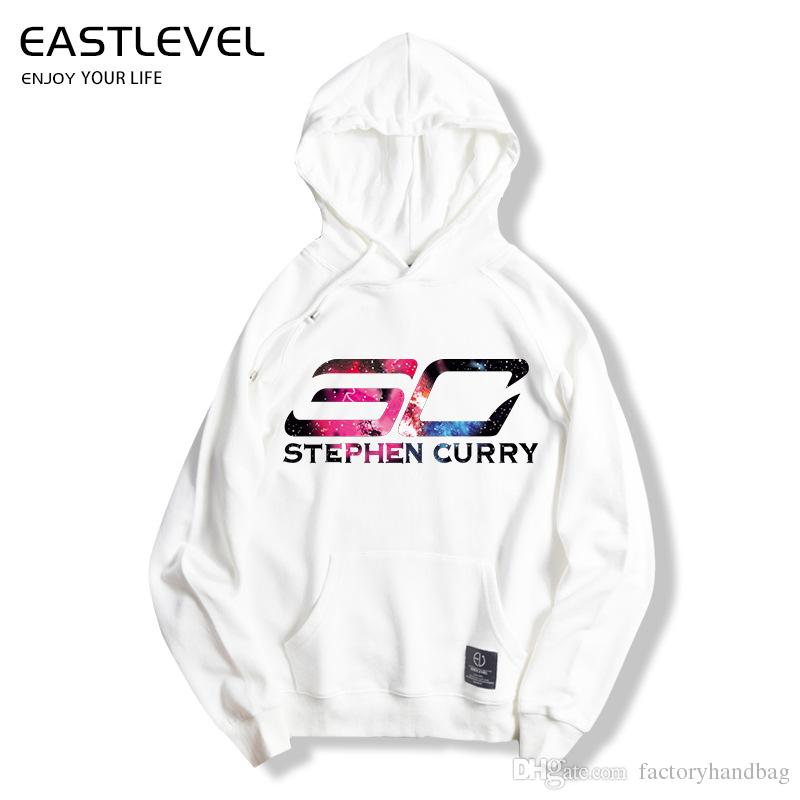 on sale d315f f4f38 Eastlevel Spring Autumn Fashion Styles Hoodies Go Stephen Curry Print  pattern hoodies for men women brand clothing cotton sweatshirt
