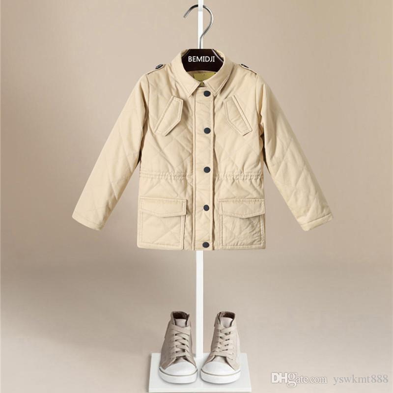 1d0bb34ac New Fashion Winter Baby Kids England Style Jacket Euramerican ...