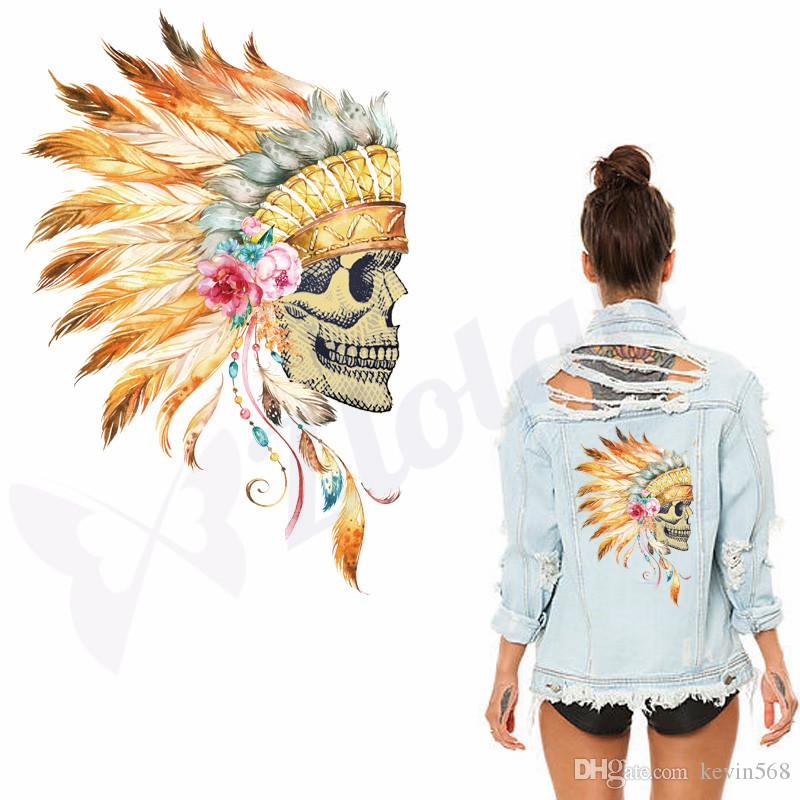 The Indians style patches for clothes DIY T-shirt Dresses Sweater thermal transfer Printed A-level Washable Sticker