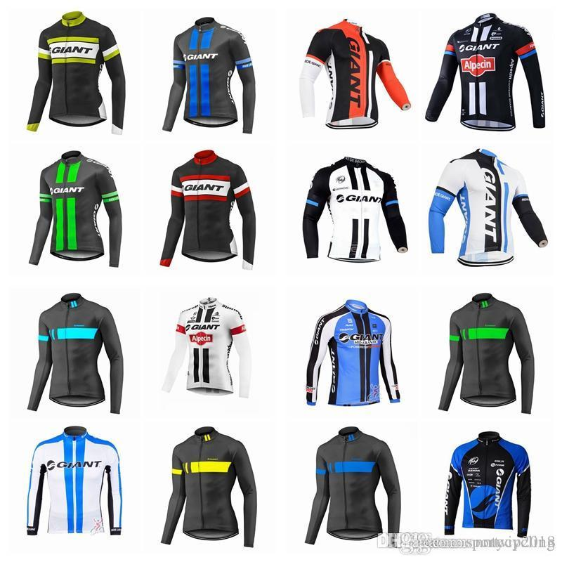2a75aa596 GIANT Cycling Clothing LONG-Sleeved Cycling Clothes Bike Wear ...