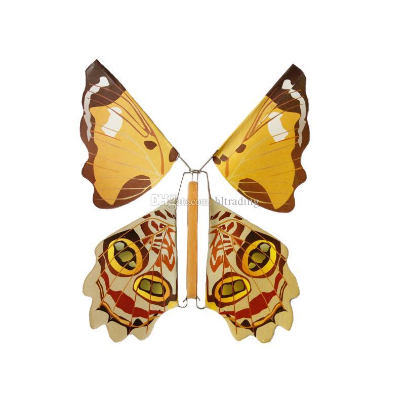 마법의 나비 2018 빈 손으로 새로운 비행 나비 변경 자유 나비 마술 소품 마술 트릭 C3905