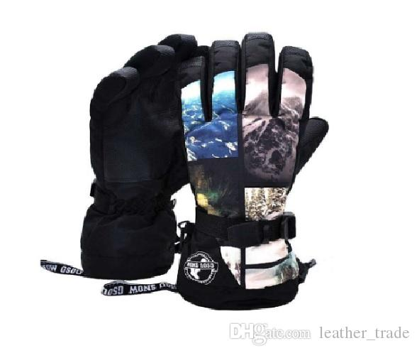 ee2bca6ed GSOUSNOW Mens Winter Ski Glove Snowboard Sports Warm Hiking Riding ...