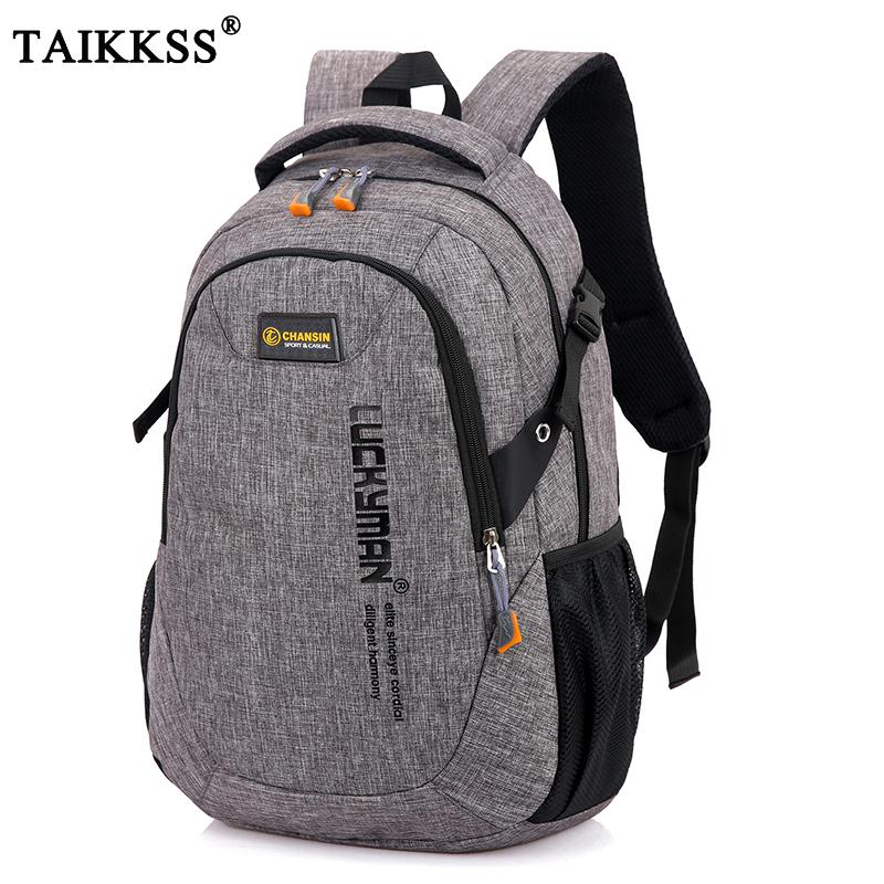 a56daeed4c 2018 New Fashion Men S Backpack Bag Male Polyester Laptop Backpack Computer  Bags High School Student College Students Bag Male Y1890302 Backpacks For  Men ...