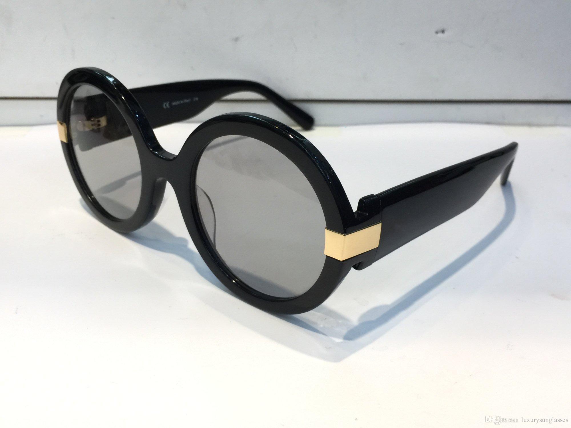 259bb55da9e Luxury 778 Sunglasses For Women Designer Fashion Sunglasses UV Protection  Coating Lens Classic Round Frame Top Quality Come With Package Vuarnet  Sunglasses ...