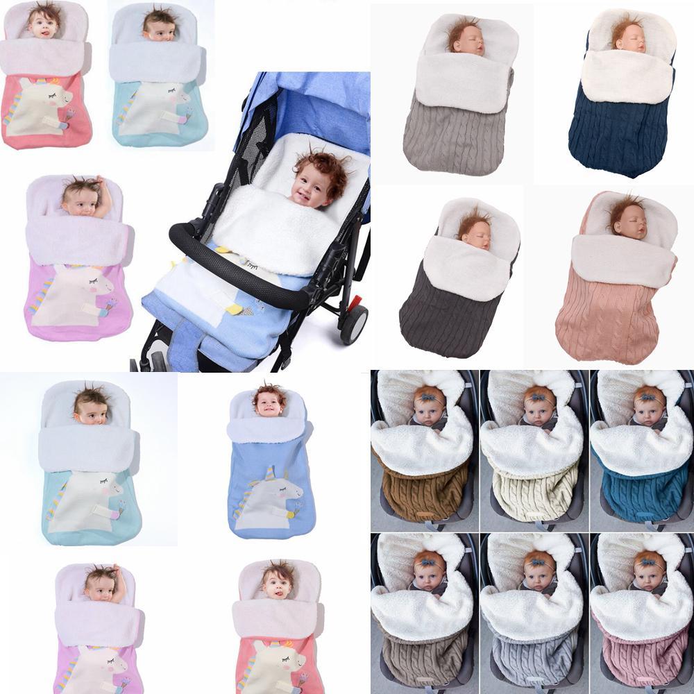Compre 12 Estilos Unicornio Recién Nacido Bebé Manta Swaddle Saco De ...