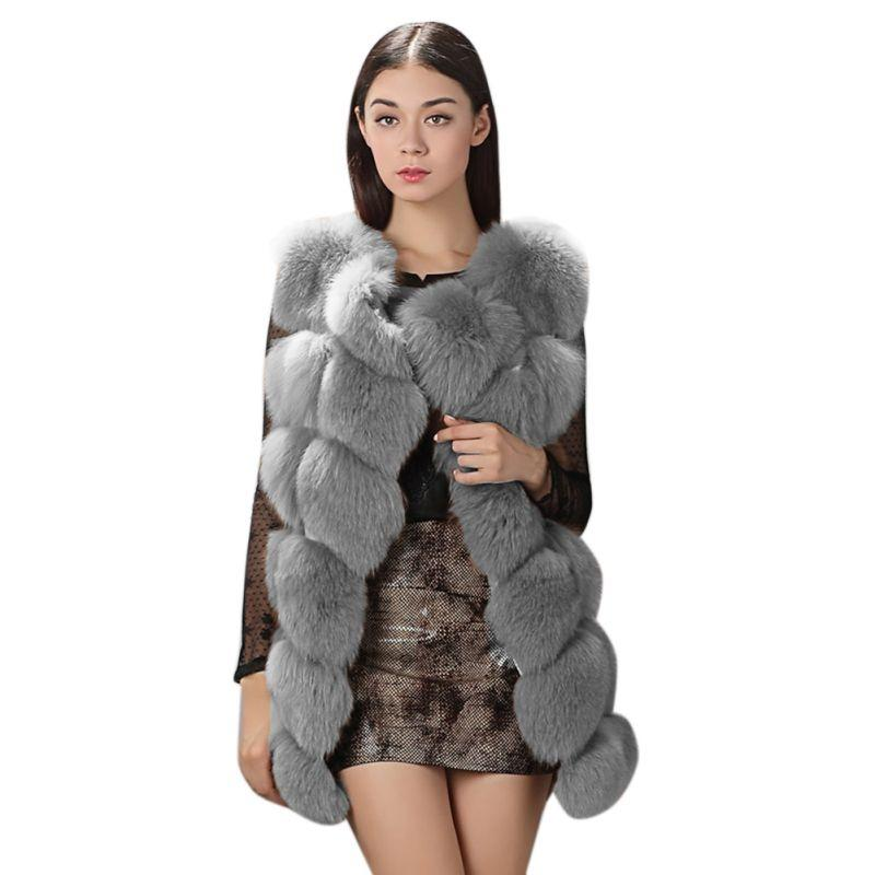 491974f4fc6 2019 Vintage Women Fluffy Faux Fur Coat Short Furry Fake Fur Winter  Outerwear Coat 2018 Autumn Casual Party Overcoat From Clothfirst, $53.85 |  DHgate.Com