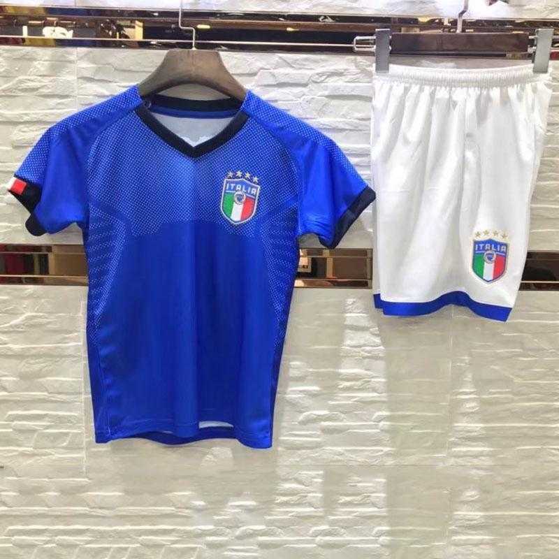 d22aed0a92d Kids Soccer Jersey Casual Soccer Tracksuits 2018 World Cup Children Soccer  Shirts Uniform Jersey+shorts Child 2pcs Sets