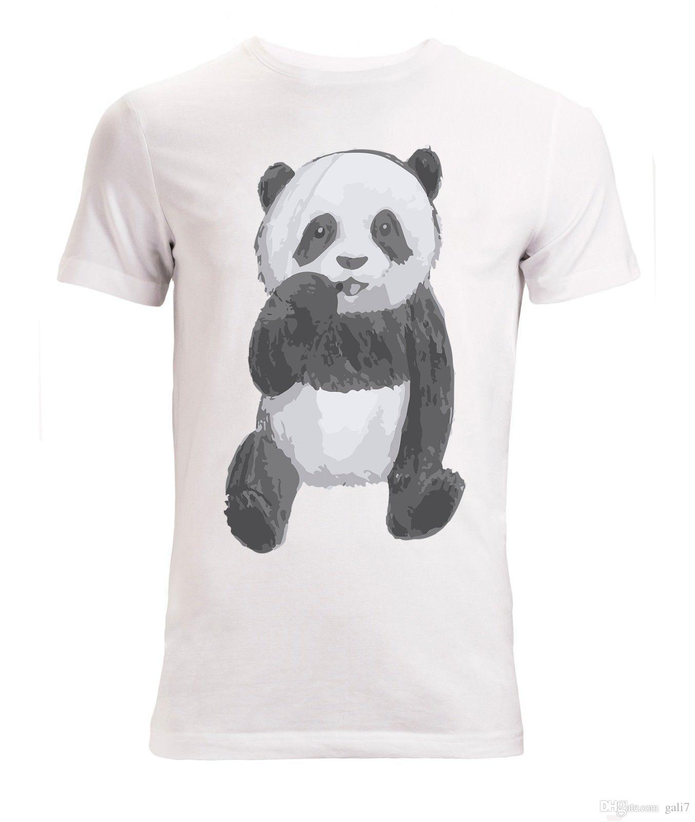 Panda Bear Cute Cub Animal Drawing Men S Woman S Available T Shirt