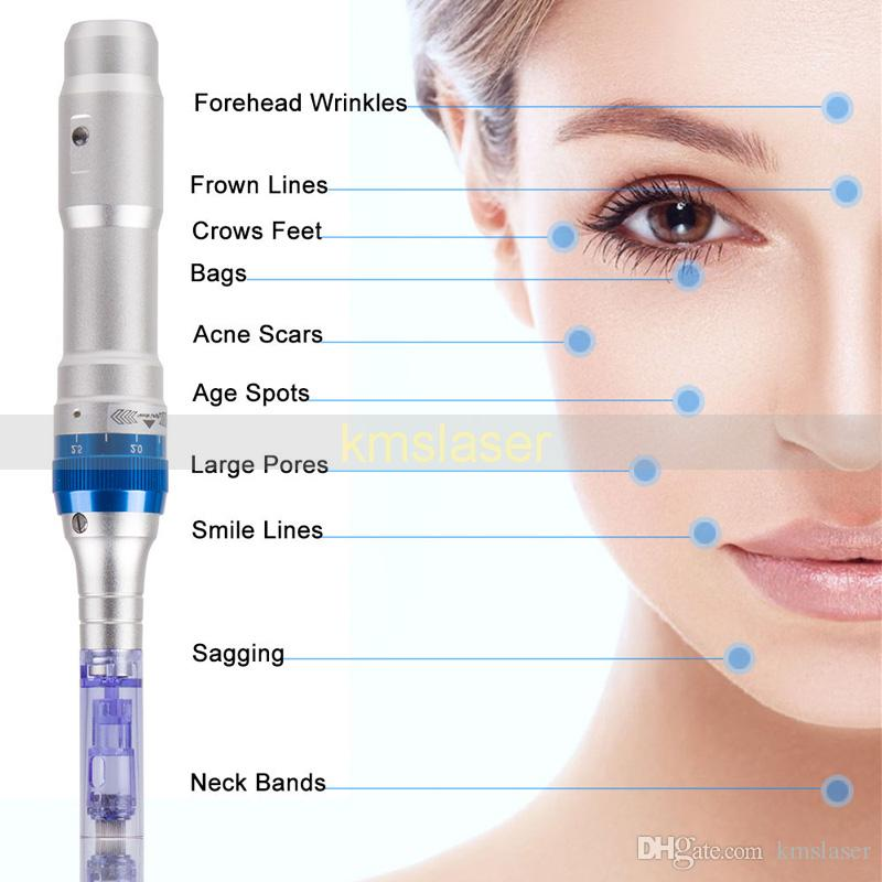 Best Price Auto Electric Derma pen Dr.pen Ultima A6 Micro Needle 2 batteries Rechargeable korea derma pen high quality