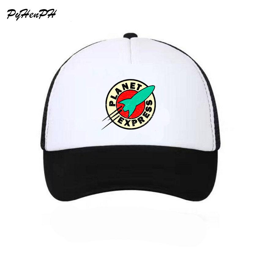 2c0861bd3dc New 2018 Planet Express Trucker Caps Hat Funny Mesh Caps The Cool Summer Hat  For Men Women Adult Unisex Baseball Cap Mesh Hats Superman Cap From ...