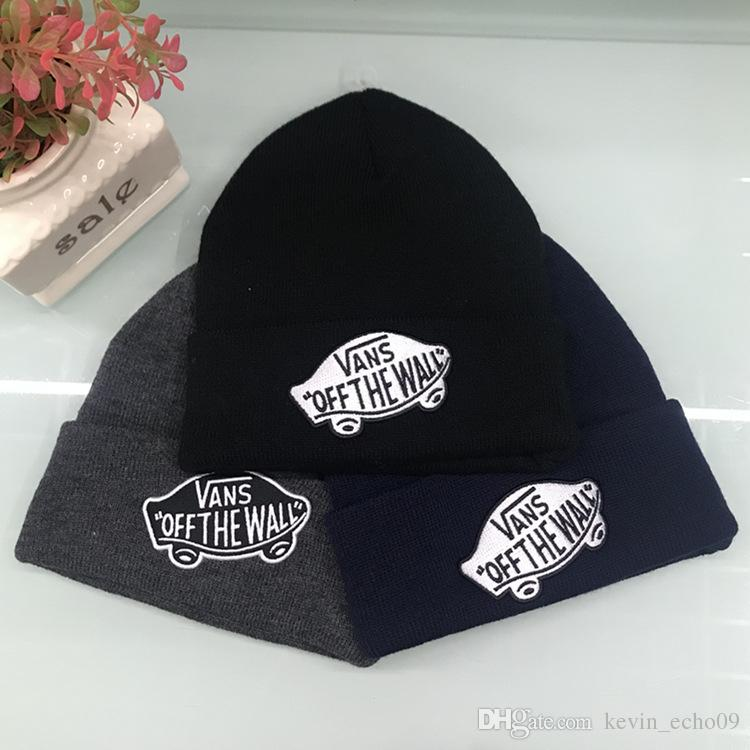 2019 Good Quality Van S Embroidered Beanies Men Women Unisex Beanies Casual  Knitted Skateboard Skull Caps Outdoor Couple Tide Hats From Kevin echo09 9aacfeb14dd