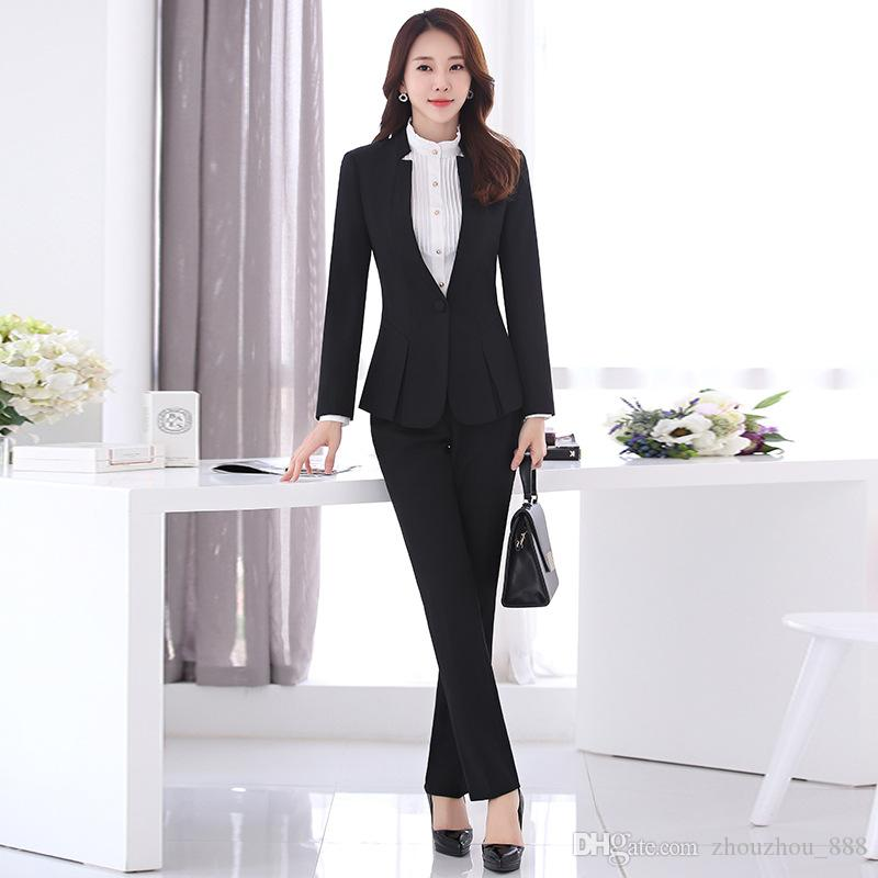 2018 Customized New Hot Professional Wear Women S Suit Long Sleeved