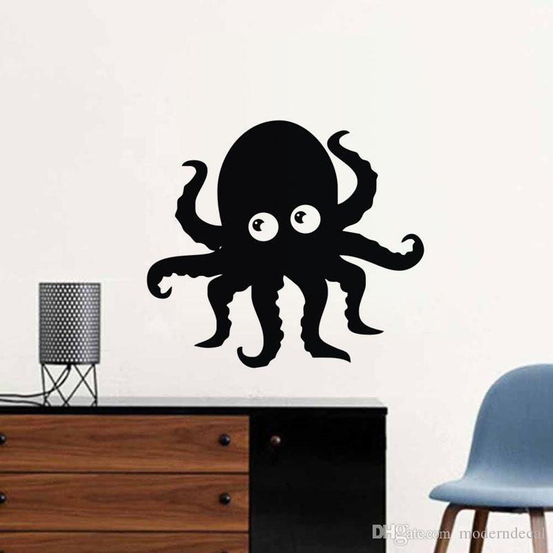 octopus stickers in the nursery vinyl adhesive wall decals bathroom