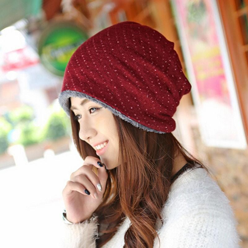 62ba242d991d6 Mailgano Beanie Hat Women Winter Hat Crochet Knitted Cap Skullies Beanies  Warm Caps Female Knitted Stylish Drop Shipping Beanie Cap Watch Cap From ...