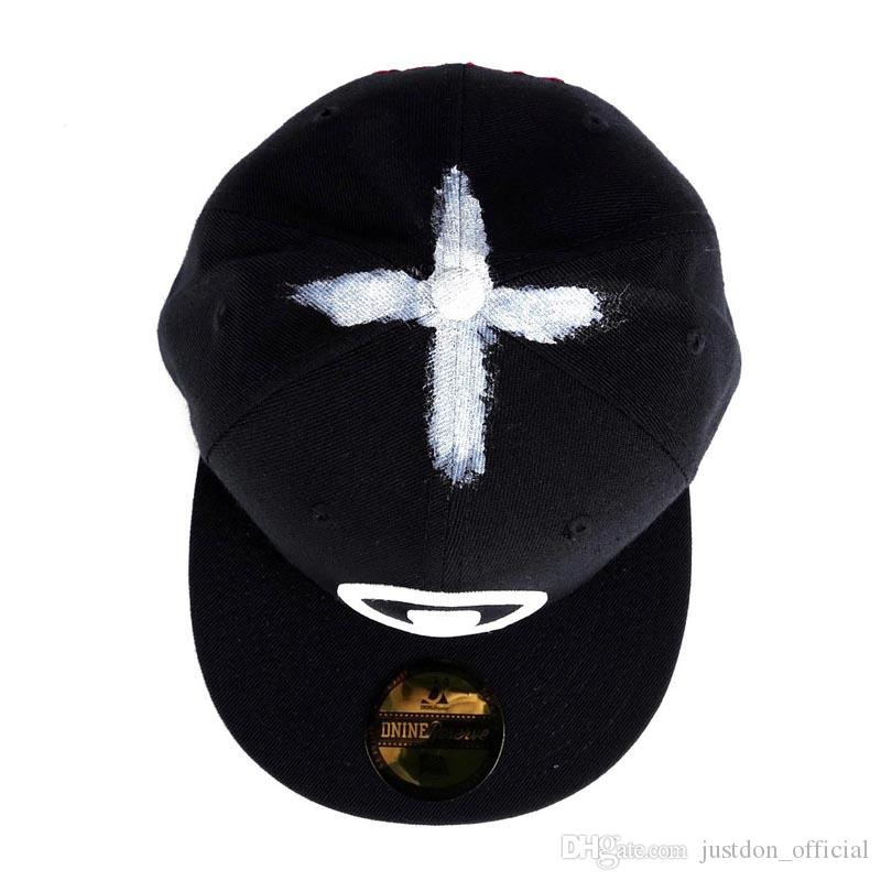 Justdon D9 Grow In The Dark Maison Dnine Snapback Hats Hiphop Style Solid  Flat Bill High Quality Wool Blend BaseBall Caps For Men In Black Flat Cap  Trucker ... 8daea0982b2b
