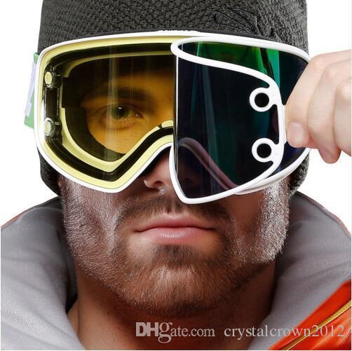 Compre Grande Cilindro Óculos De Esqui Ímã Lente Dupla De Uso Magnético  Para Visão Noturna Óculos De Snowboard De Crystalcrown2012,  66.34    Pt.Dhgate.Com 58827b6214