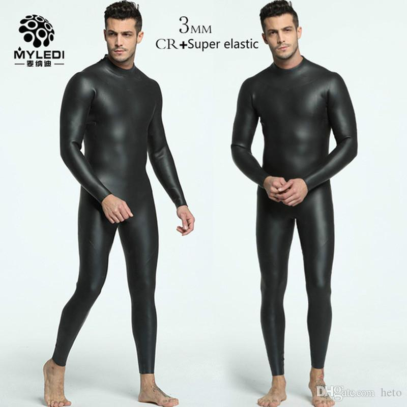 2019 3MM Integrated Diving Suit CR+ Ultra Elastic Triathlon Wetsuit Full  Black Male Anti Cold Warm Skin Suit Male Snorkeling Warmth Wetsuit From  Heto f0e9759b3