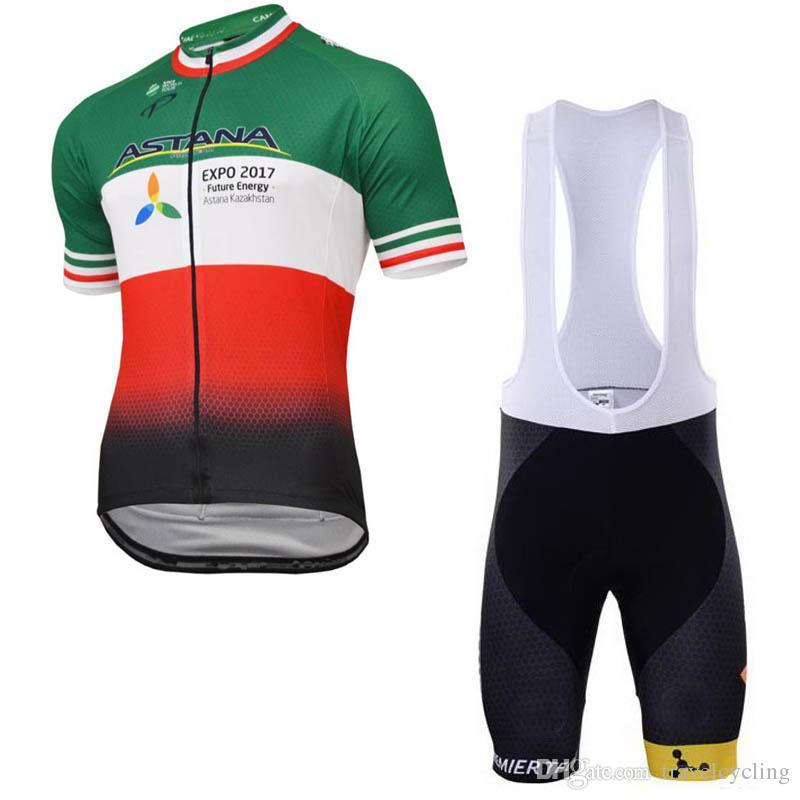 9279dd0d0 ASTANA Cycling Jersey Sets MTB Bike Clothing Tour De France Men s ...