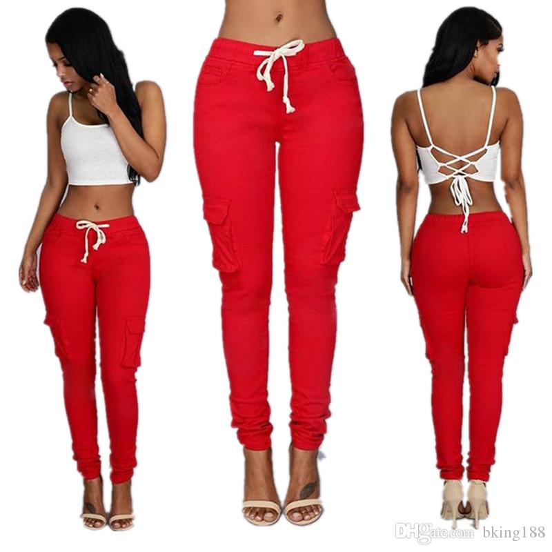 3e1ad42b5c5 Women Girl Ladies Sexy Clothes Leggings Pants Trousers Fashion Skinny  Pencil Denim Pants Womens Leggings Jeans Canada 2019 From Bking188
