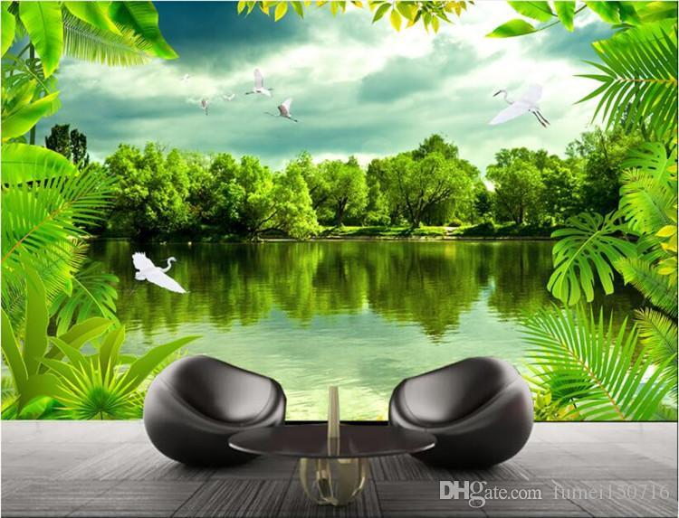 Advanced Wall Paper Tropical Rainforest Dream Forest Natural Hd Tv