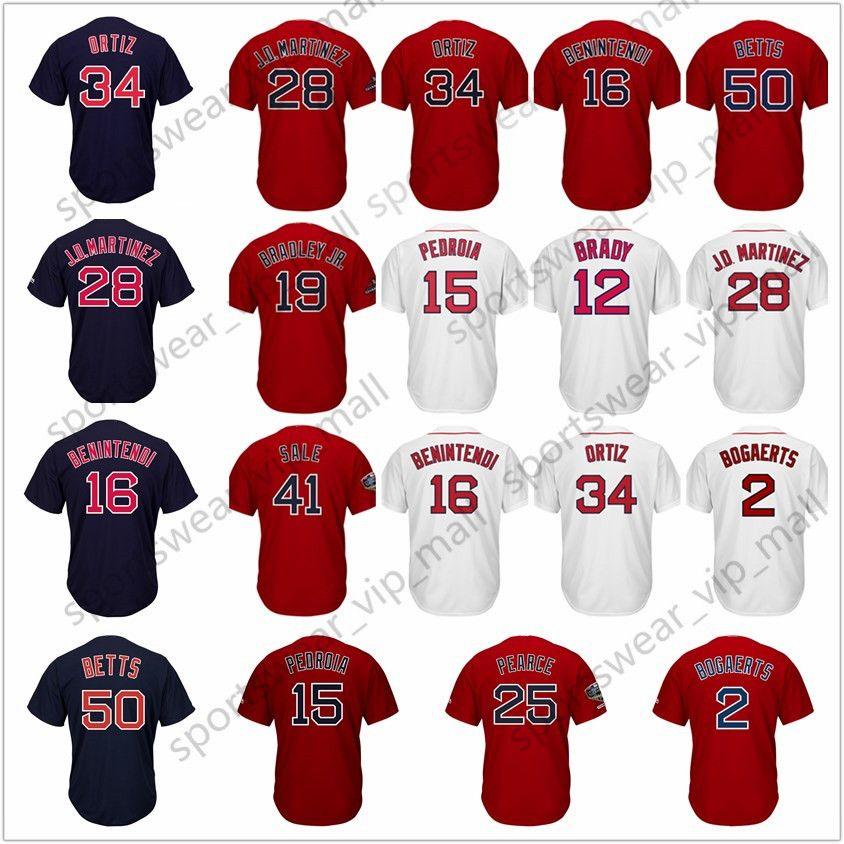 2019 Men Kids Women Mookie Betts Jersey Red Andrew Benintendi Jackie  Bradley Jr. Chris Sale Dustin J.D. Martinez Pedroia Csox Baseball Jerseys  From ... 928afdeef52