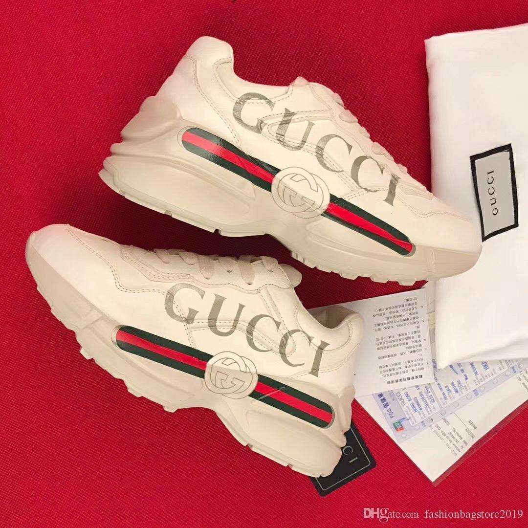 db3c976a6a Acheter Chaussures De Luxe Pour Hommes De Luxe Vieilles Chaussures De  Femmes Anciennes Concepteur Parfait Chaussures Décontractées En Cuir  Véritable Taille ...