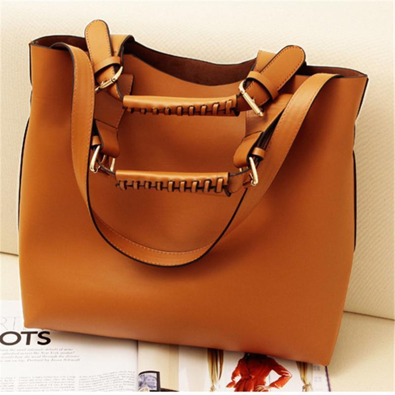 Luxury Bags Handbags Women Totes Brands Vintage Simple Retro Pu