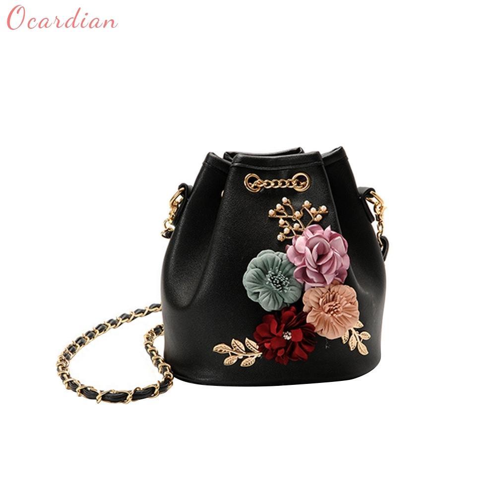9a500f925b Ocardian Hot Sale New Fashion Flower Bucket Bag Shoulder Messenger Bag  Women S Handbags Master Designer Dropship ≪ 487g   D18101104 Mens Leather  Bags ...