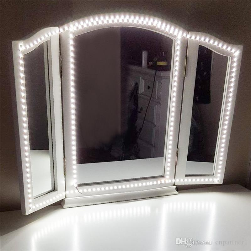 Led Strip Light Kit 13ft 4m 240 Leds Makeup Vanity Mirror