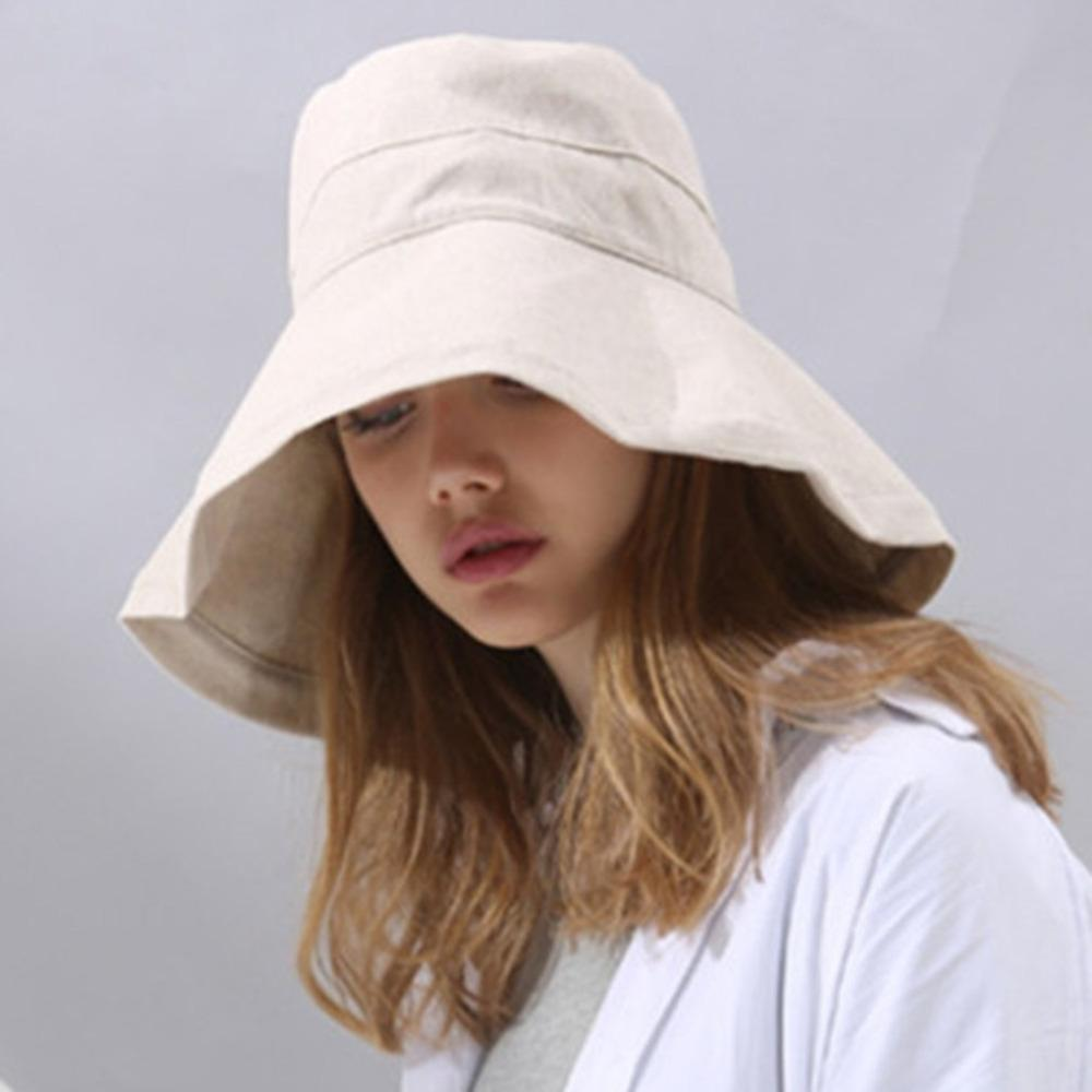 Bucket Cap Women Cotton Solid Hat Bob Caps Hip Hop Cool Outdoor Sports  Summer Ladies Beach Sun Fishing Bucket Hats Sales Scala Hats Wholesale Hats  From ... 0e9cce605a10