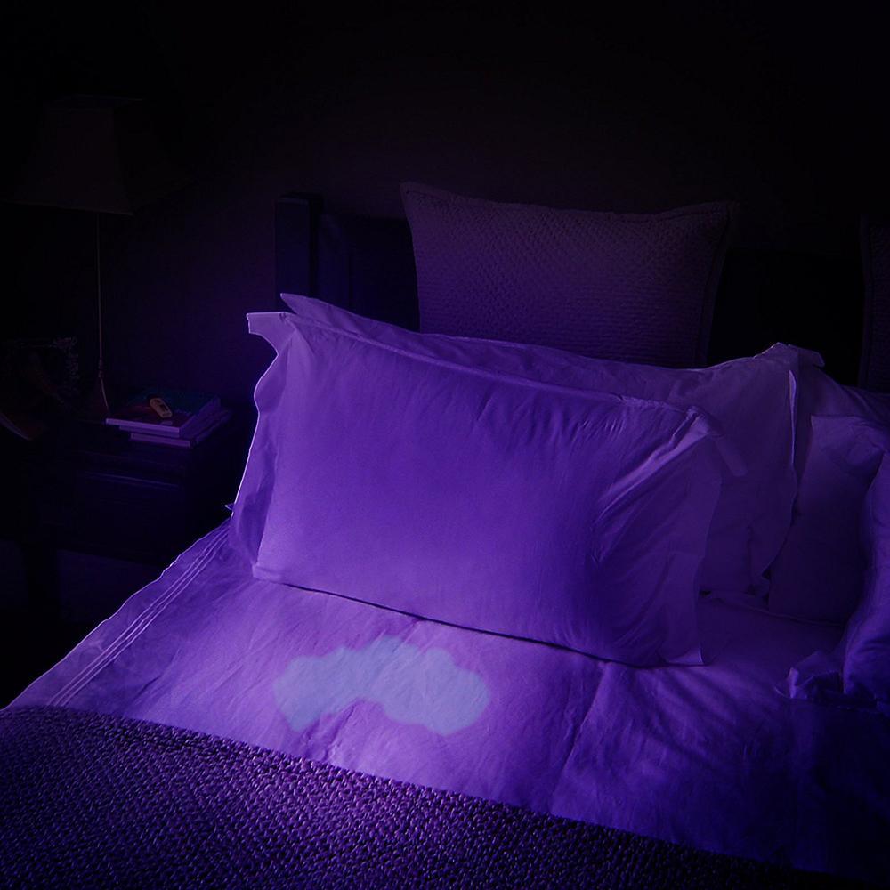 Uv Led Lanterna 51 Leds 395nm Ultra Violeta Tocha Luz Da Lâmpada Detector de Luz Negra para Cão Urina Pet Stains e Bed Bug