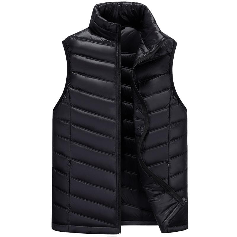 Vêtements pour hommes élégant hiver veste chaude doudoune hommes mode loisirs travail gilet canada streetwear casual garçon manteau pour hommes