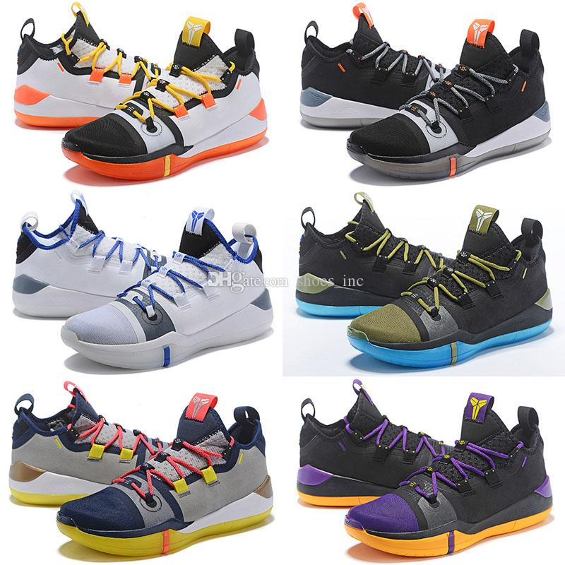7ca8d2a8caba 2019 2018 New Kobe AD Exodus On Sales Kobe A.D Mamba Basketball Shoes From  Shoes inc