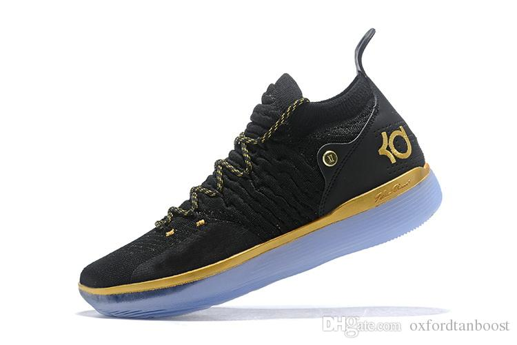 bd7b23d75dbd Kevin Durant KD XI 11 Ice Blue Oreo Paranoid Basketball Shoes Men Still KD  11s Black Gold Rainbow Sports Sneakers Online Shoes Cheap Shoes From ...